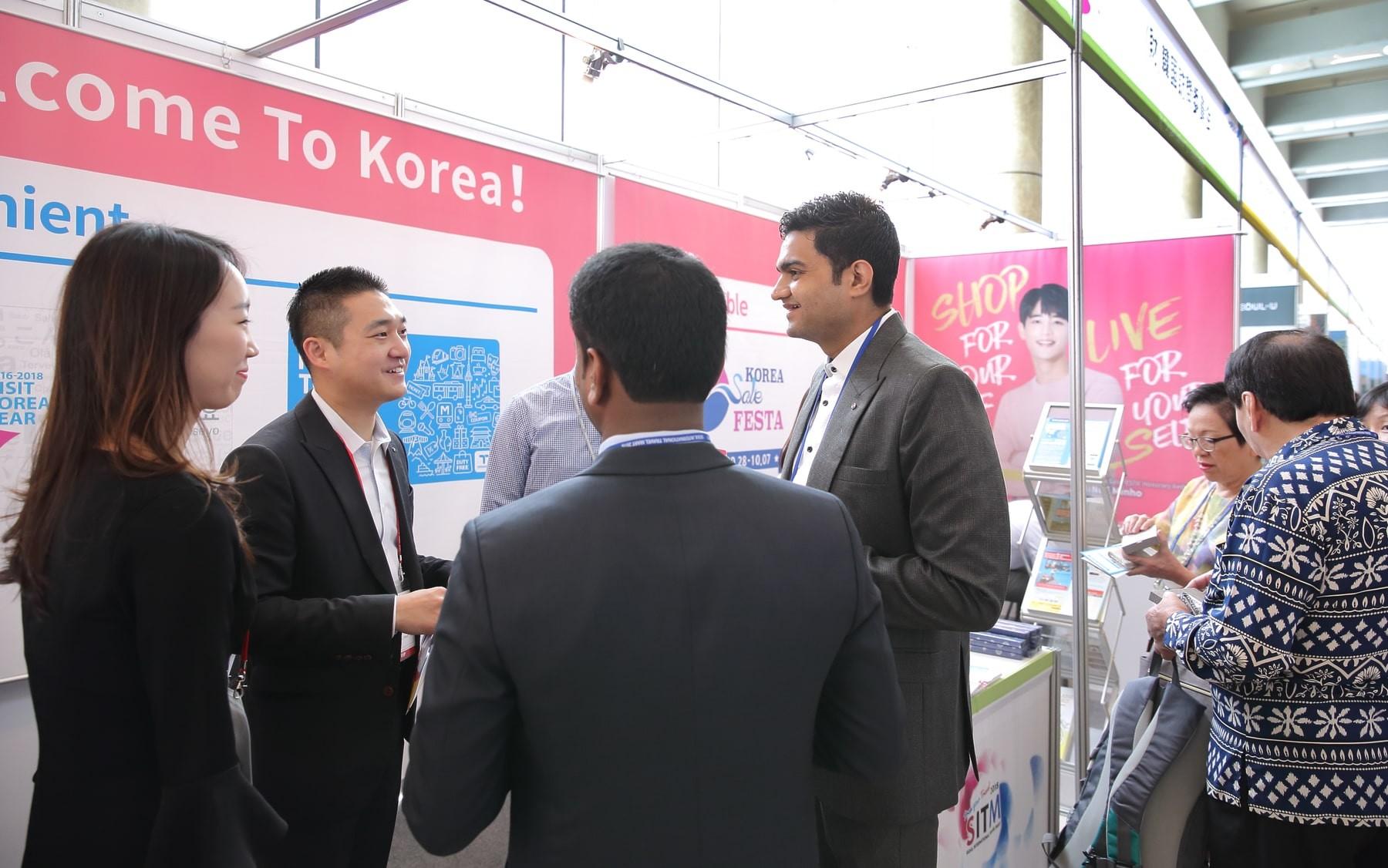 2018 ソウル国際トラベルマート  連携「2016-2018韓国訪問の年」広報