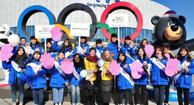 미소국가대표, 2018 평창동계올림픽 맞이 환대캠페인 개최