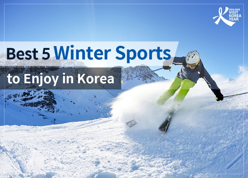 Best 5 Winter Sports to Enjoy in Korea