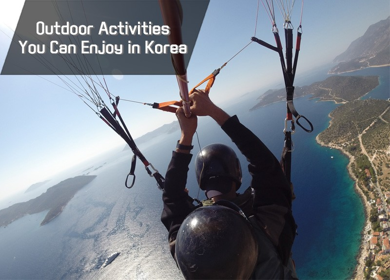 Outdoor Activities Recommended by the Visit Korea Committee