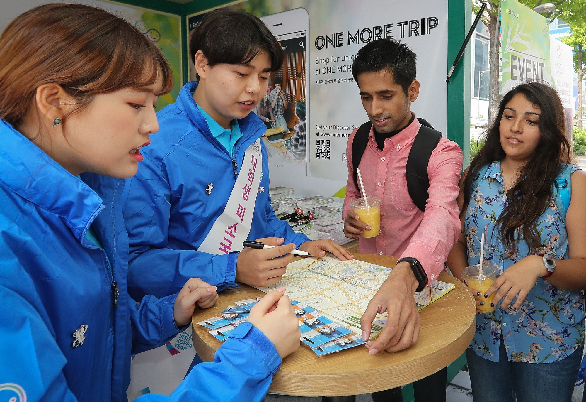 Visit Korea Committee Operates Welcoming Centers for Special Tourist Welcoming Month