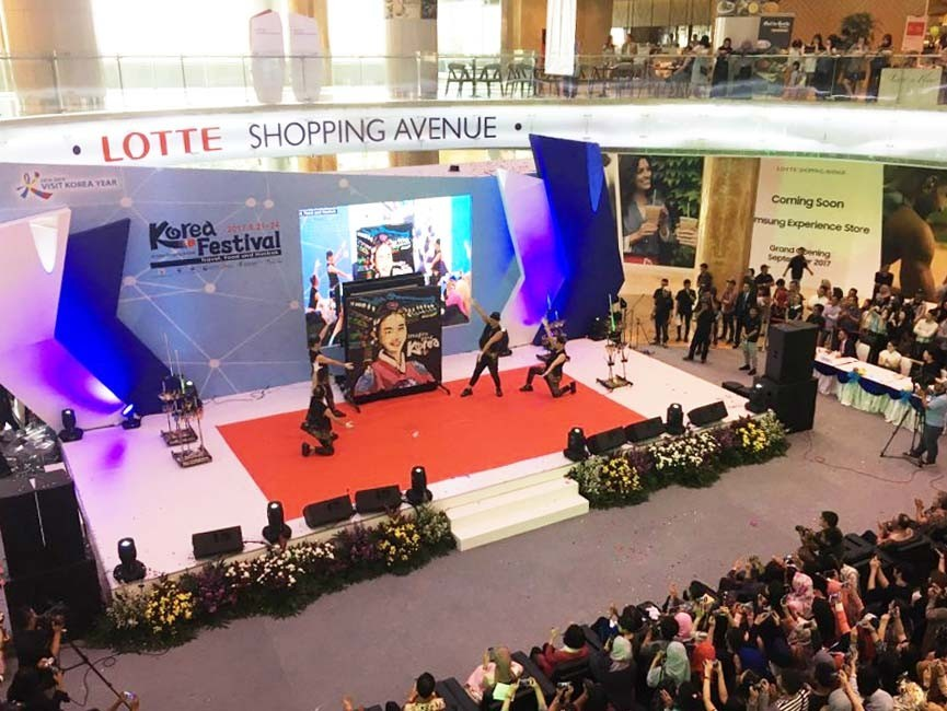 "2016–2018 Visit Korea Year"" promoted at 2017 Korea Festival in Jakarta"